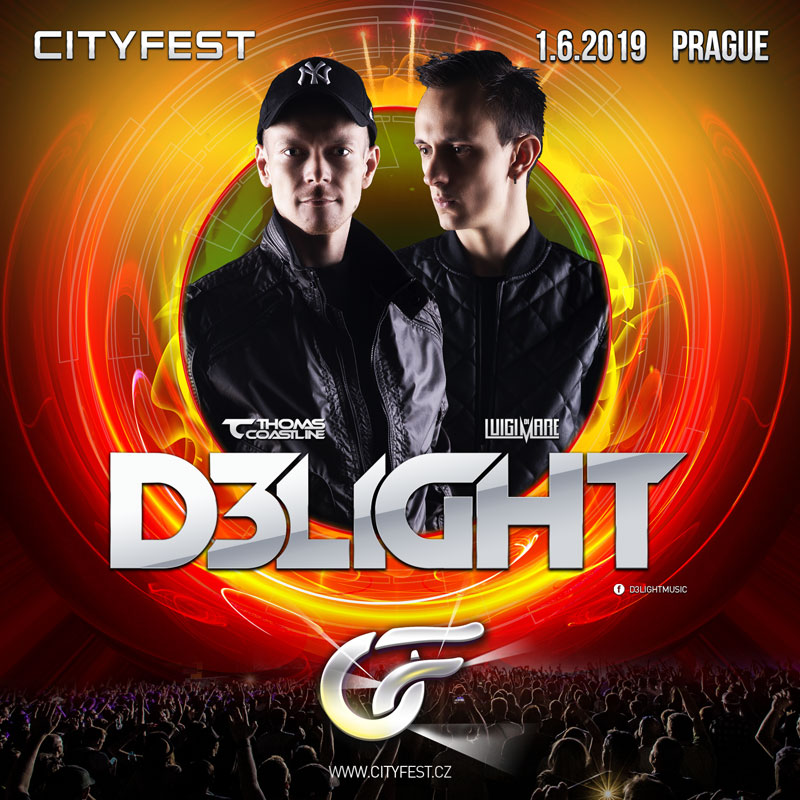 Thomas Coastline s projektem D3LIGHT doplňuje line-up CityFestu